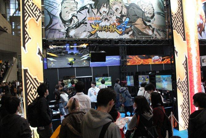 Auch auf der Anime-Messe Jump Festa 2015 ist Naruto Shippuden Ultimate Ninja Storm 4 vertreten.