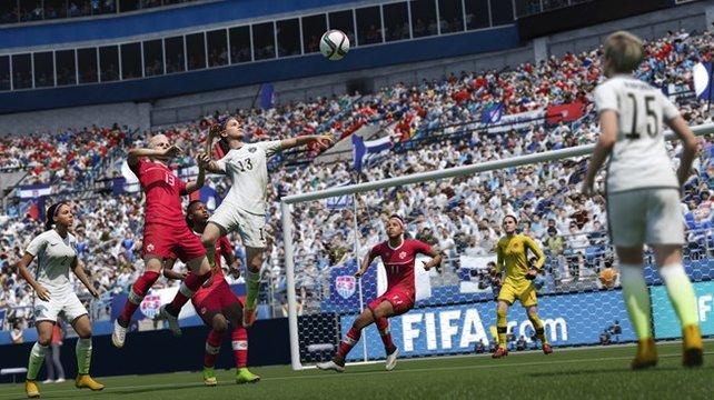 12 Frauen-Nationalmannschaften stehen dem Spieler in FIFA 16 zur Verfügung