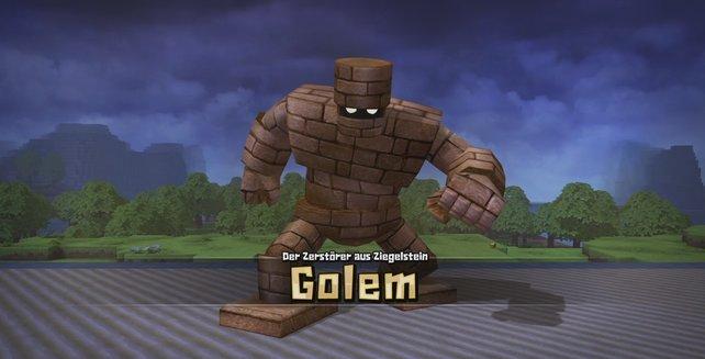 Dragon Quest Builders: Mit diesen Vorbereitungen werdet ihr den Golem besiegen können.
