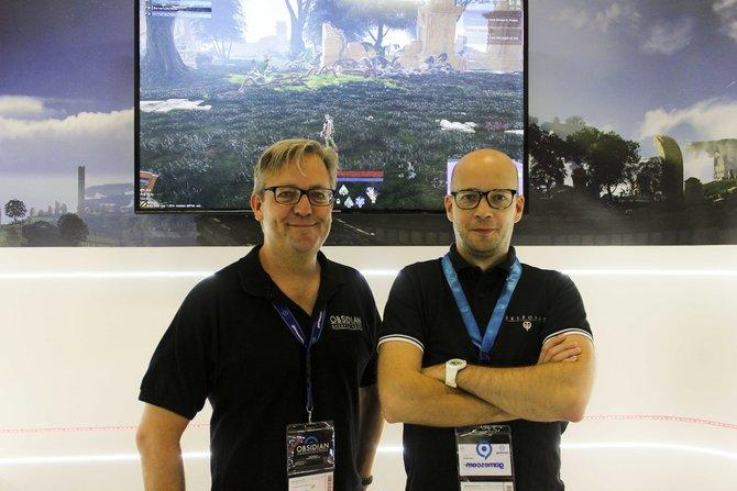 Die Entwickler Eric Demilt und Oleg Khazhinskiy plaudern auf der gamescom über Skyforge.