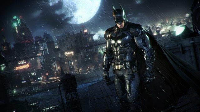 Da schaut er wieder grimmig drein, der alte Batman.
