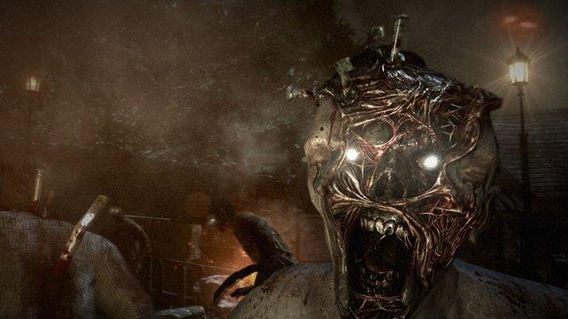 Die Gegner in The Evil Within haben oft gehörige Mundfäule.
