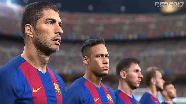 Mit dem FC Barcelona dürften euch viele Trophäen und Erfolge in PES 2017 leichter fallen.