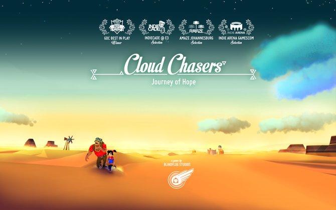 In Cloud Chasers schlüpft ihr in die Rolle von zwei Flüchtlingen.
