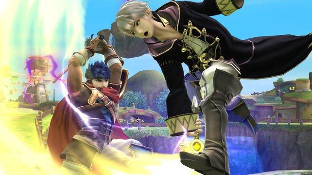 Während Ike nur auf rohe Gewalt setzt, nutzt Daraen vor allem die Vielseitigkeit von Magie.