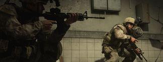 Panorama: Call of Duty: Mann spielt mit Sturmgewehr im Schoß - das plötzlich losgeht!