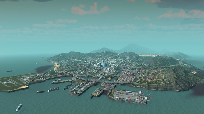 In Cities - Skylines könnt ihr eigene Städte erschaffen. Oder eben auch Los Santos nachbauen.