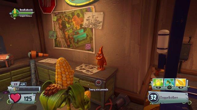 Garden Warfare 2: Die versteckten Gartenzwerge erkennt ihr an der goldglänzenden Farbe.