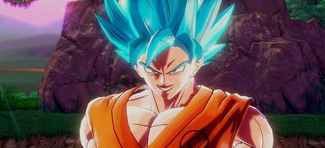 SSGSS: Son-Gokus bisher stärkste Form in Dragon Ball Xenoverse 2.
