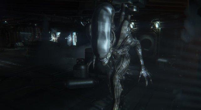 Das Alien weckt Urängste.