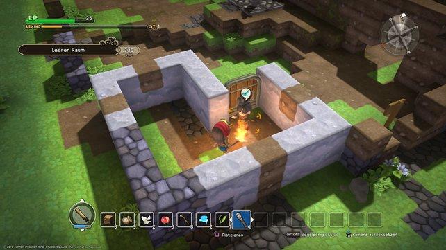 Erledigt die Herausforderungen, wenn ihr die Trophäen von Dragon Quest Builders freischalten wollt.