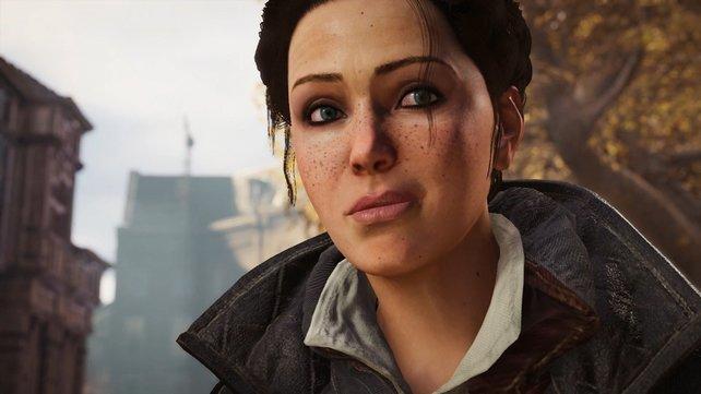 Als Assassine kämpft sie nicht nur gegen die Templer, sondern will auch die Geschichte der Assassinen besser verstehen.