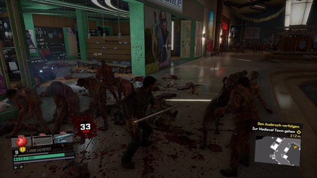 Hier ist Zombie-Jagd noch echte Handarbeit.