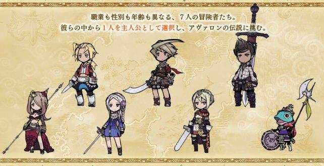 Diese sieben Charaktere stehen euch zur Auswahl. Wir verraten euch, wer für welche Aufgaben am Besten geeignet ist.