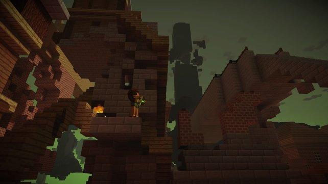 Der Turm im Hintergrund ist der Aufenthaltsort von Magnus.