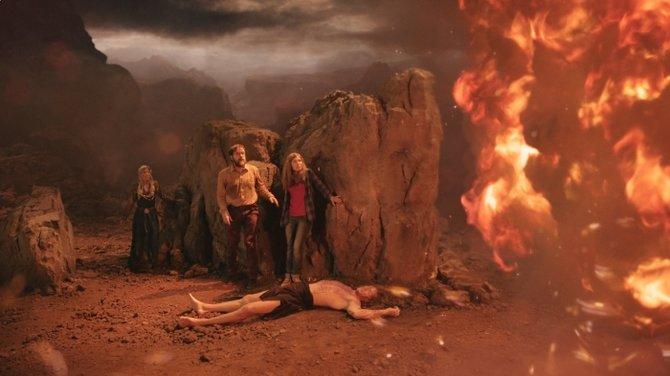 """Berge, viel Feuer ... Nein, ihr sehz hier keine Szene aus """"Shadow of Mordor""""."""