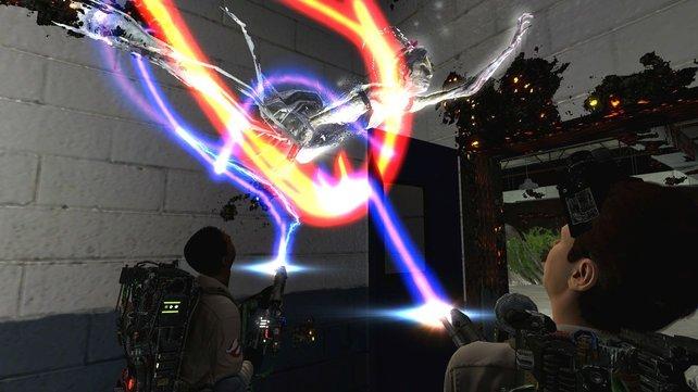 Als spielbarer Film mit den Original-Geisterjägern präsentiert sich das Spiel von 2009.