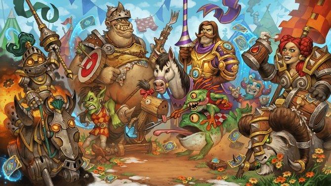 """Blizzard hat die neue Erweiterung """"Das große Turnier"""" für Hearthstone - Heroes of Warcraft veröffentlicht."""