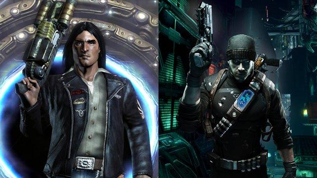 So sahen die ersten Protagonisten von Prey aus.