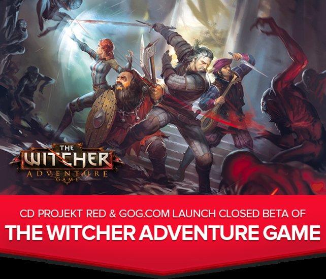 Wer The Witcher 3 - Wild Hunt beim Internetshop GoG.com vorbestellt, bekommt zusätzlich Zugang zur Beta der digitalen Version des Witcher Adventure Game.
