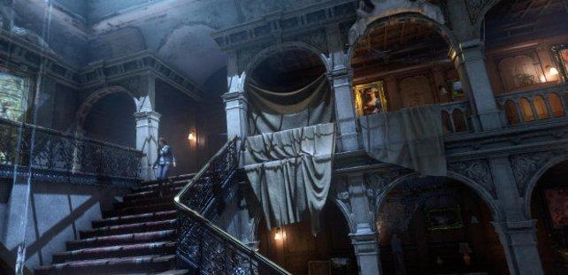Im Croft-Anwesen deckt ihr ein schreckliches Geheimnis auf - seid gespannt!