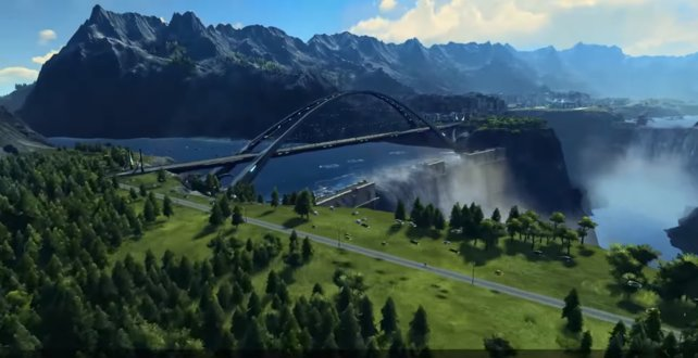 Ist die Brücke nicht hübsch!