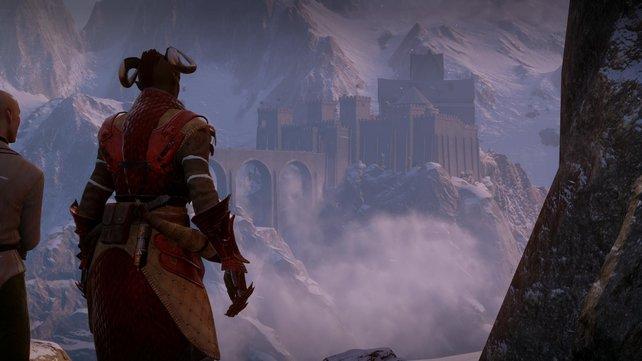 Die gewaltige Himmelsfeste ist die Hauptbasis der Inquisition.
