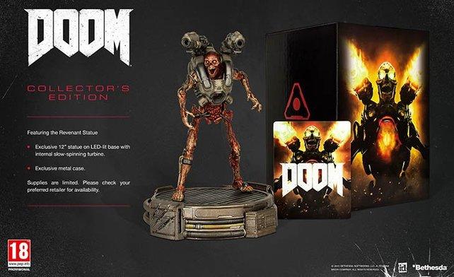 """Ein erstes Bild der """"Collector's Edition"""" von Doom,"""