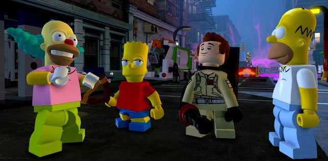 Lego Dimensions: das Simpsons Level-paket.