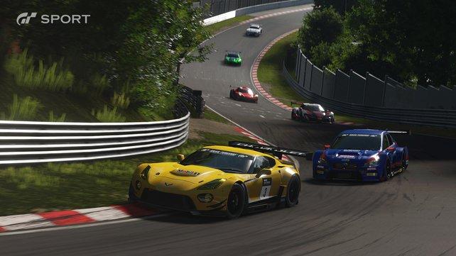 Der Fokus von Gran Turismo Sport steht klar auf Online-Rennen.