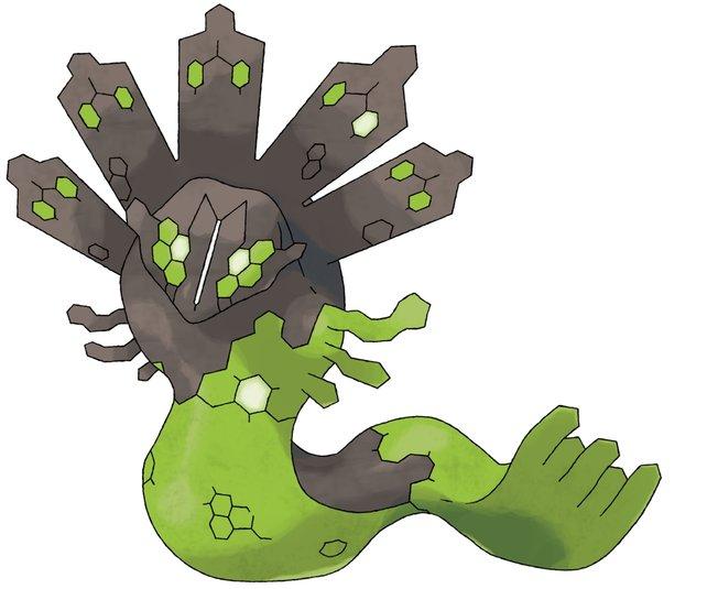Das Pokémon Zygarde ist vom Typ Boden und Drache.
