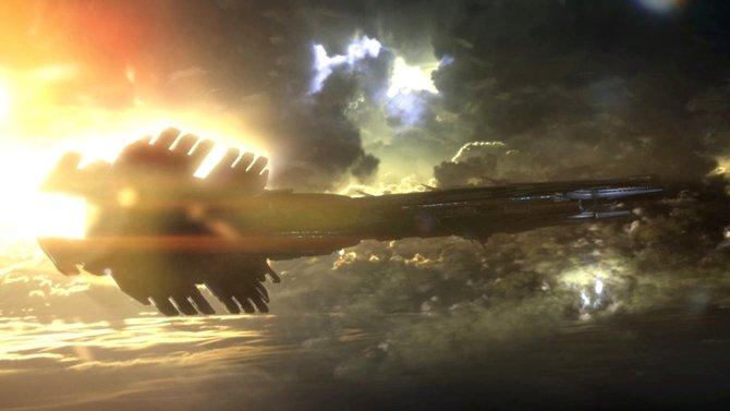 Die Operationsbasis des Shadow Broker befindet sich inmitten eines intergalaktischen Sturms.