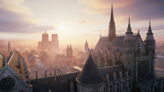 Optisch betrachtet ist die Stadt mit ihren Lichtstimmungen der Hauptdarsteller des Spiels.