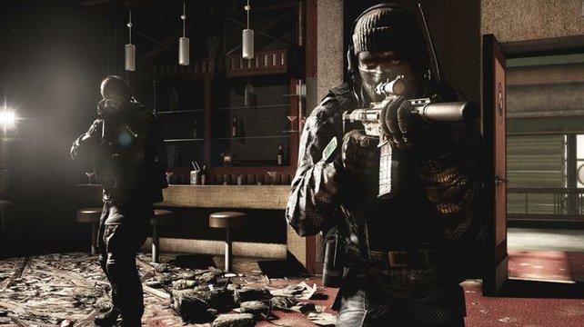 Die Spezialeinheit der Ghosts beschützt Amerika vor der Bedrohung der Federation.