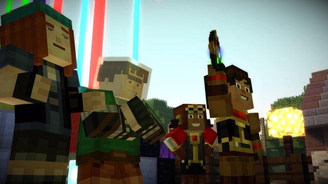 Der Sieg gegen den Witherstorm ist errungen! Die neuen Geschichten des neuen Order of the Stone folgen in der nächsten Episode.