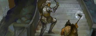 Panorama: Parodie auf Sierra-Klassiker: Ein Spiel, nur um Treppen hinaufzulaufen