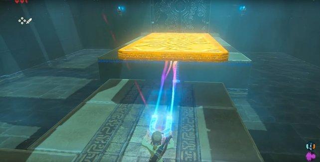 Die Module eures Shiekah-Steins sind die wichtigsten Instrumente, um Rätsel zu lösen.