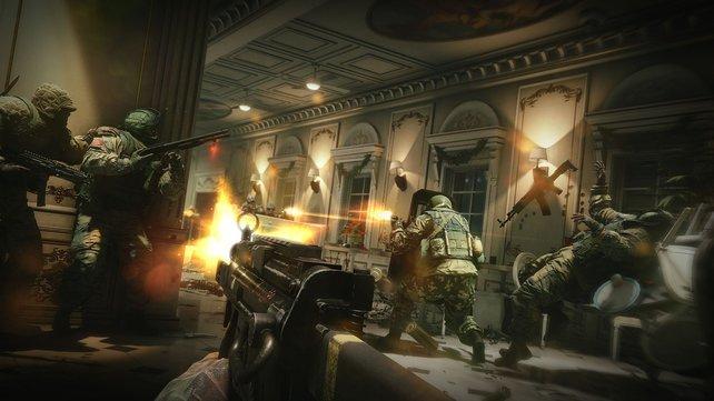 Im Multiplayer sind die 5vs5 Gefechte gegen menschliche Spieler besonders intensiv.
