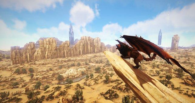 """Mantikor: Das ist der neue Boss im DLC namens """"Scorched Earth""""."""