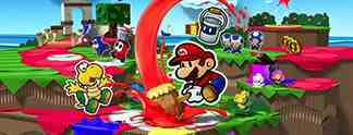 Paper Mario - Color Splash Fundorte aller Retter-Toads