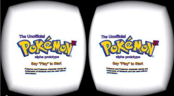 Bei Pokemon VR handelt es sich nicht um ein offizielles Projekt von Nintendo, sondern nur um eine Technologiedemo.