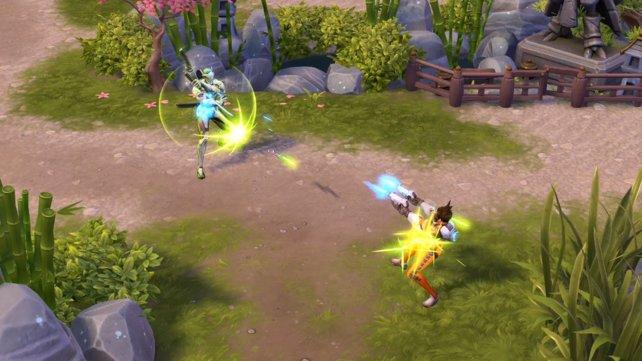 Hanamura ermöglicht es Overwatch-Helden erstmals, in einer ihnen bekannten Umgebung zu kämpfen.