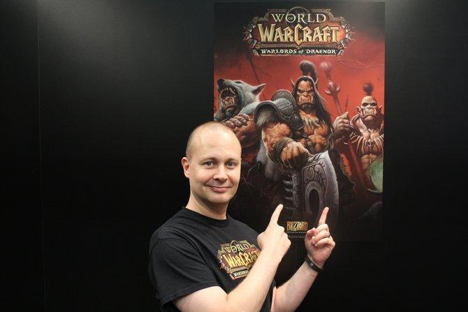 """Für das """"World of Warcraft""""-Interview ist leitender Entwickler und Vize-Chef von Blizzard, Tom Chilton, am Start."""
