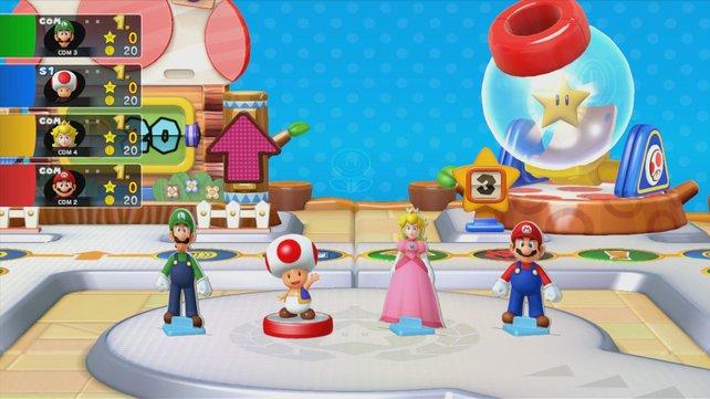 Zu Mario Party 10 kommt eine eigene Amiibo-Serie, die viele Inhalte freischaltet.