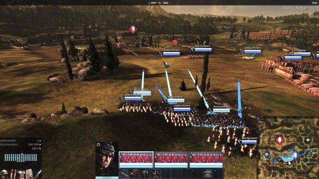 Auf der verbesserten Mini-Karte sollt ihr Truppenbewegungen und Positionen leichter erkennen können.