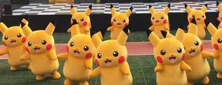 Panorama: Tanzender Pikachu verliert Luft - H�, was? Genau!