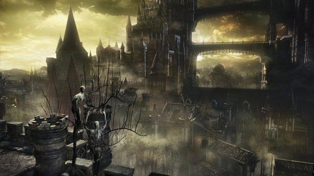 In Dark Souls 3 gibt es weniger Areale, dafür sind diese aber größer.