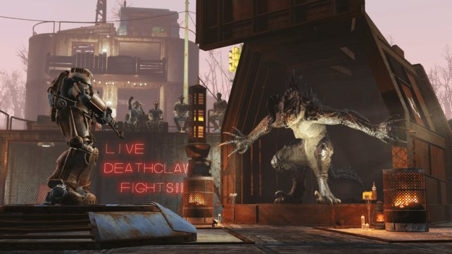 Live Deathclaw Fights!!!