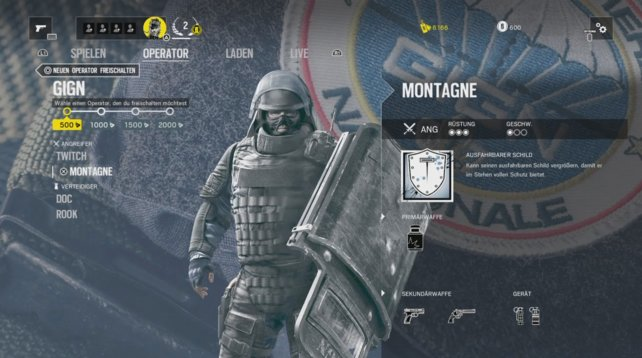 Operator Montagne