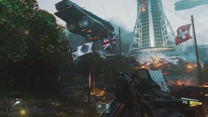 In Infinite Warfare erwartet euch eine futuristische Kampagne, in der sich Militärkräfte von Mars und Co. gegen die Erde wenden.